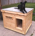 Dog House Plans  K  Law Enforcement Dog House PlansSnow   Washington